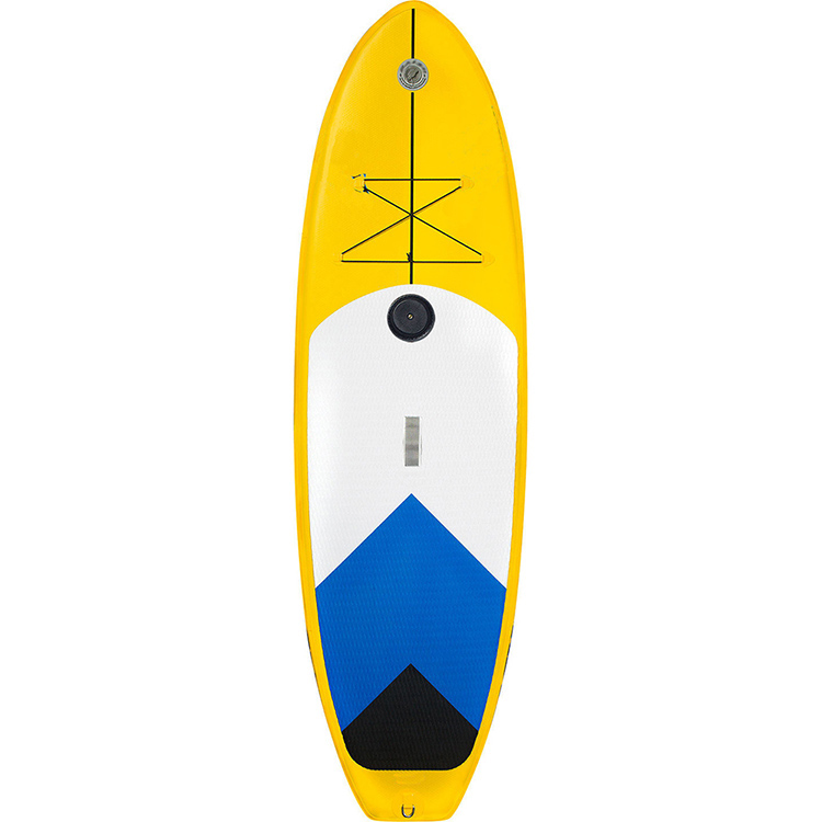New design inflatable paddle board windsurf with fins