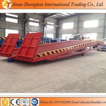 Top Level Container Loading Dock Ramp Slope/ mobile loading yard ramp for sale