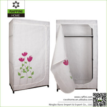 Sell Home Furniture Folding Fabric Clothes Wardrobe