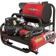 Northstar 2-Gun Hot Water Pressure Washer Skid - 23.5 HP