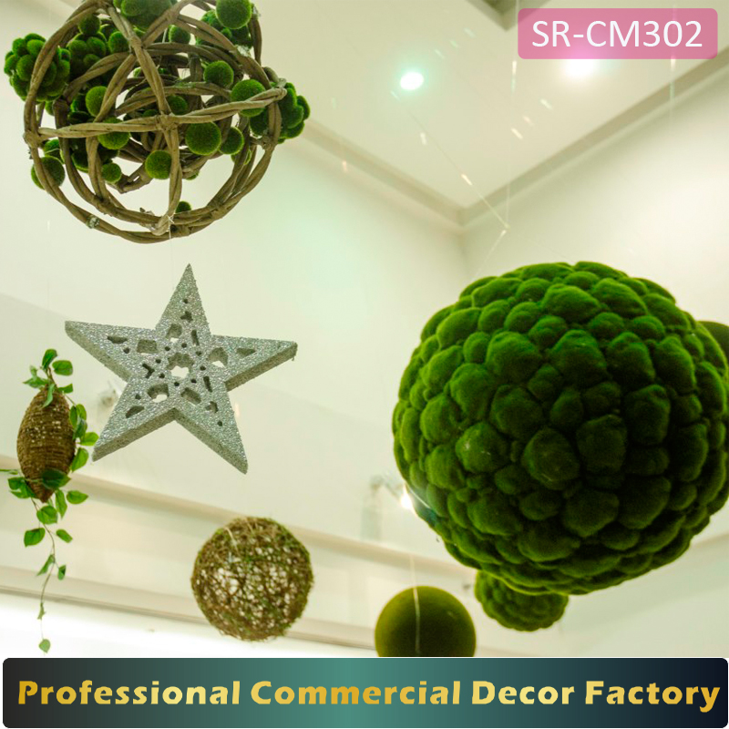 Custom commercial spring Ramadan shopping mall decoration
