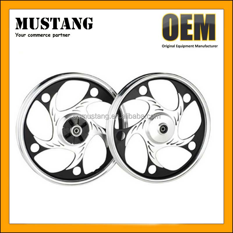 Hot Sell in India Pakistan Nigeria Peru Market Motorcycle Chrome Wheel