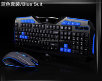 Cheap 2.4G Wireless Keyboard and Mouse Combo for Desktop, Windows 7 / 8 / XP / Vista