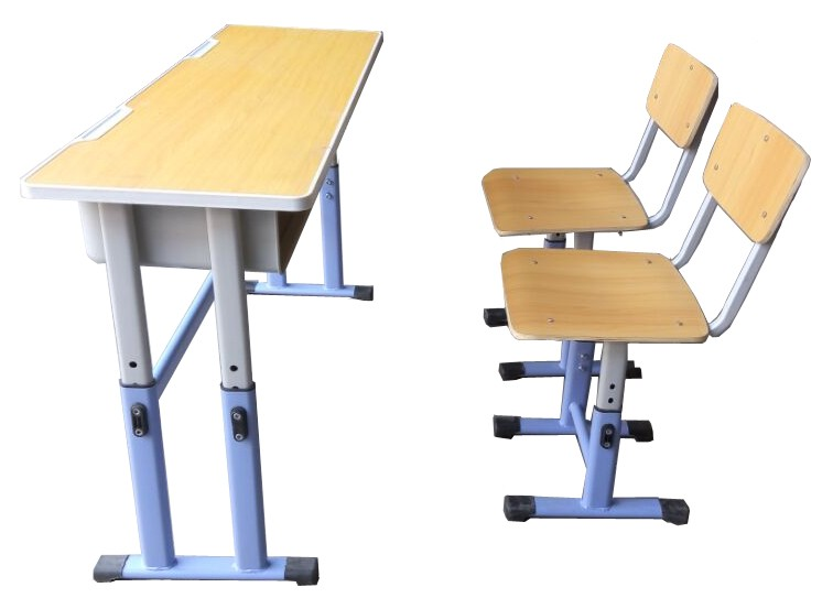 Student Bench 2 Seater with Seating , School desk and chair , School furniture