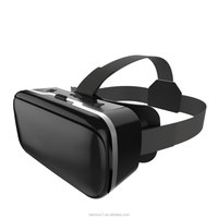 "Universal 3D Glasses Cardboard Virtual Reality VR 3D Movies Games TV Glasses with Head Strap For 4-6.5"" Phones"
