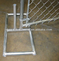 Removable Chain link Temporary Fence