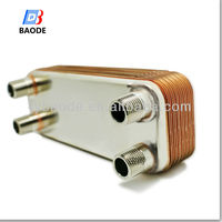 BL14 series Copper Brazed Plate type Swimming Pool Heat Exchanger