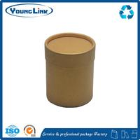 wholesale fashion waterproof Round gift paper mache craft box/cylinder box/tube box clamshell packaging