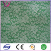 Polyester velvet lace fabric for garment woman dress