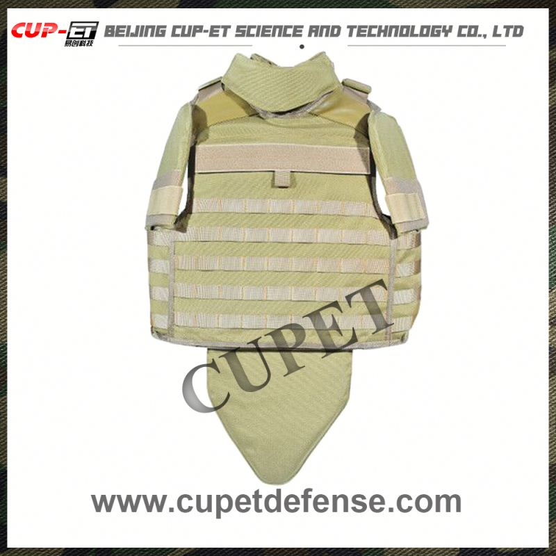 Ballistic lightweight protective full body armor suit