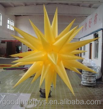 inflatable air star balloon/inflatable stars