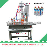20-450ml Butane gas can filling machine made in china newport butane gas msds