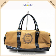 Wholesale fancy canvas travel trolley luggage bag