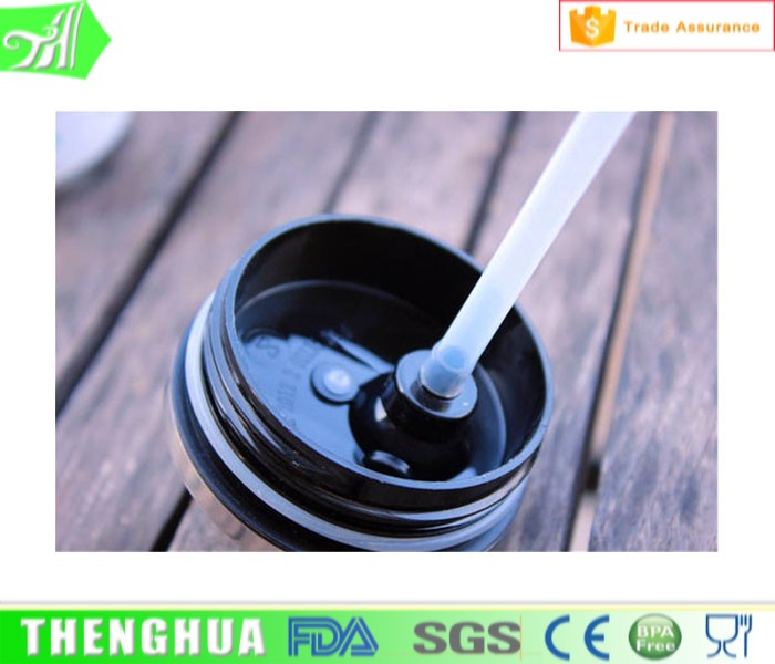 With Good Quality Straw Stainless Steel Water Bottle Cap