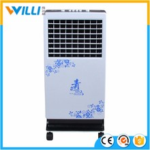 EH-CF0045 Freezing water air cooler mist fan 16 inch home standing electric fan with ice pad cooling