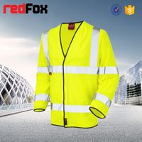 wholesale waterproof high visibility safety cafe racer jacket