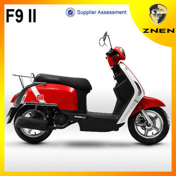 ZNEN MOTOR --F9 classical patent design ZNEN 125cc scooter motorcycle with eec epa dot certification