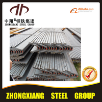 Professional U shape steel beam underground arch support