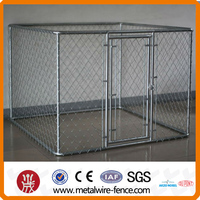 folding metal dog fence