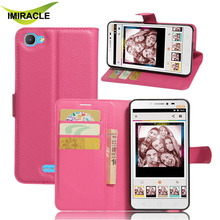 Wallet PU Leather Card Holder Flip Cover For Alcatel Pixi 4 Plus Power Phone Case