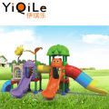 Colorful sliding toy outdoor entertainment equipment children plastic slide game toys for sale