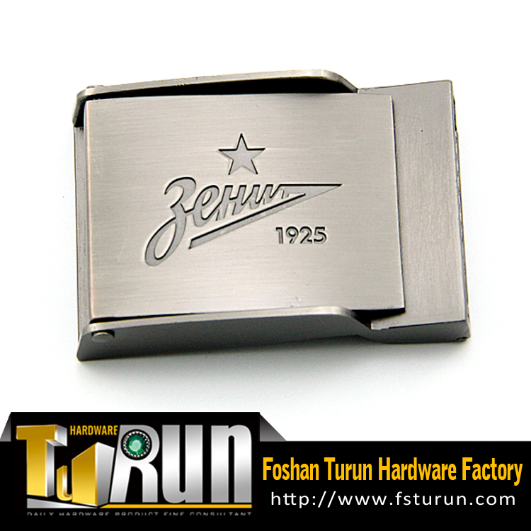 Factory professional custom gunmetal stylish hip hop belt buckle