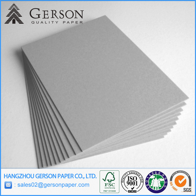 Grey Sides Cardboard for Shoe Box Uncoated Chip Board