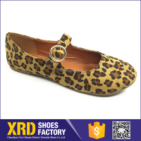Cheap price fabric upper new style italian shoes/her style shoes