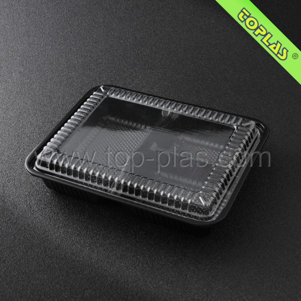 Plastic Food Containers 3 Compartment Containers