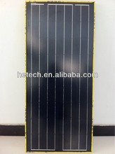 PV Black/Transparent/Golden 120W monocrystalline solar panels to Europe