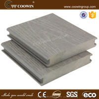 COOWIN china composite decking wholesaler waterproof outdoor sanded wpc