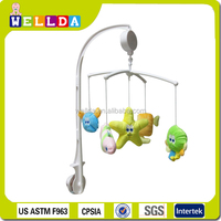 Cute Plush Animal Toys Musical Mobile