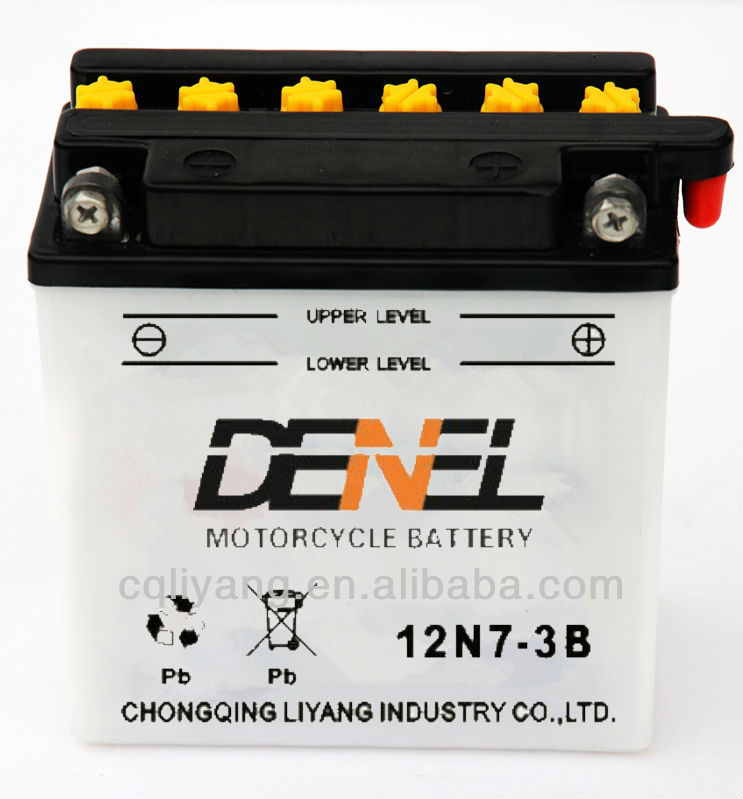 12N7-3B Motorcycle Battery High quality for best price 12V electric scooter Battery