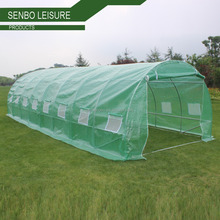 professional poly tunnel green house /big DIY agricultural serre tunnel