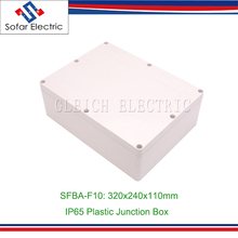 320x240x110mm IP66 Weatherproof Electrical Plastic Box