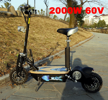 2018 high quality cheap EVO electric scooter 2000W 60V with CE