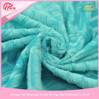 100% polyester super soft brushed fabric