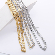 new factory stainless steel man jewelry gold filled chain