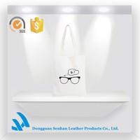 2015 Hot Sale Teens Sports canvas bag with glasses printed