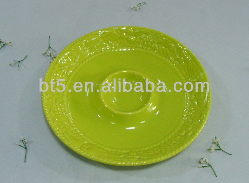 souvenir divided plates dishes ceramic