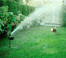 scarecrow motion activated water sprinkler safe animal deterrent scarecrow / pest deterrent