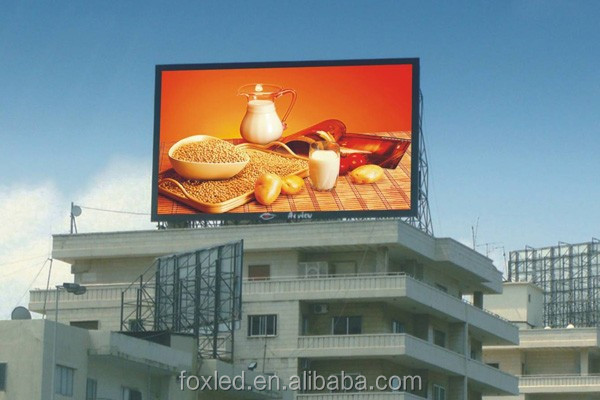 Alibaba ShenZhen factory outdoor full color p6/p8/p10/p16/p20 led display /p10 led panel outdoor electronic advertising board