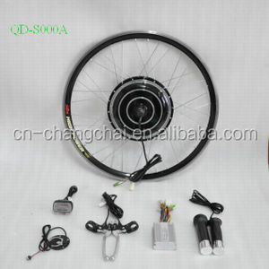 China Manufacturer Low Price Electric Bicycle Conversion Kit Ebike Spare Parts Cheap Electric Bike Kit