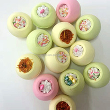 private label wholesale new products colorful bath bomb bath fizzer for skin care