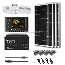 Renewable 500w portable solar home light system
