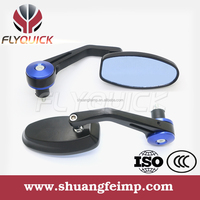 SF114 red black gold side mirror or motorcycle parts with good quality form wenzhou manufacturer