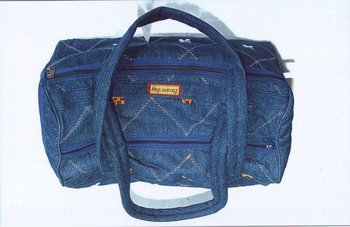 Denim Travelling Bag