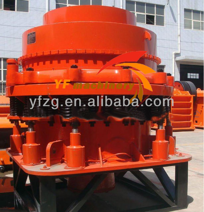High Adaptability in primary,secondary and tertiary Spring Cone Crusher