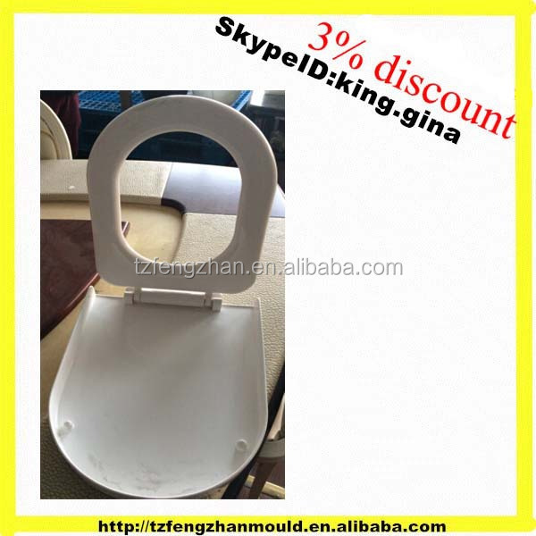 China Taizhou make good sell toilet seat cover mould,plastic molds for sale in huangyan factory