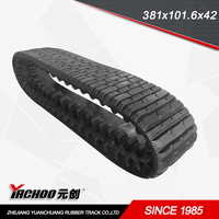 ASV rubber track381x102x42 FOR 247/247B/257/257B